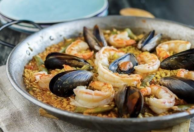 Tradiční španělská paella