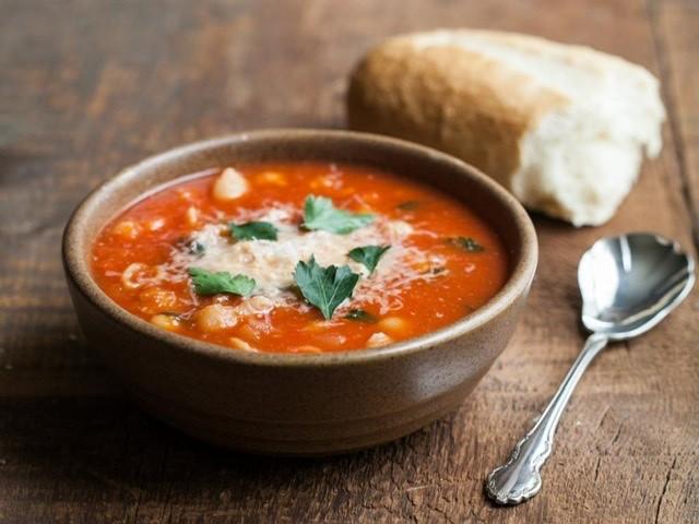Masová bramborová polévka