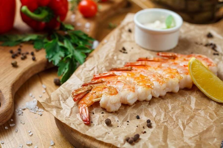 Pikantní krevety na grilu