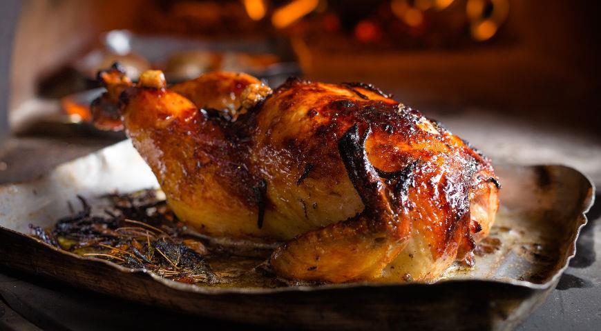 Pečené sváteční kuře